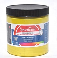 Εικόνα του Speedball Opaque Fabric Screen Printing Ink - Citrine