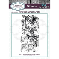 Εικόνα του Creative Expressions Rubber Stamp By Andy Skinner - Grunge Wallpaper