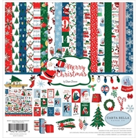 "Εικόνα του Carta Bella Collection Kit 12""X12"" - Merry Christmas"