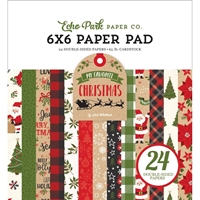 "Εικόνα του Echo Park Double-Sided Paper Pad 6""X6"" - My Favorite Christmas"