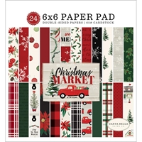 "Εικόνα του Carta Bella Double-Sided Paper Pad 6""X6"" - Christmas Market"