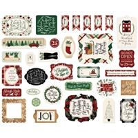 Εικόνα του Echo Park A Cozy Christmas Cardstock Ephemera - Icons
