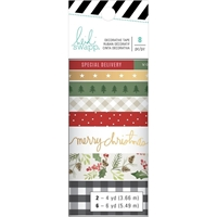 Εικόνα του Heidi Swapp Winter Wonderland Washi Tape Rolls 8/Pkg