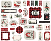 Εικόνα του Carta Bella Christmas Market Cardstock Ephemera - Icons