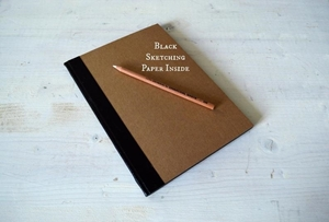 Picture of Journal Shop Sketching Journal 24.5 x 17 - Black