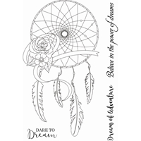Εικόνα του Sweet Dixie Clear Stamps Sharon Callis - Dream Catcher