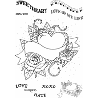 Εικόνα του Sweet Dixie Clear Stamps Sharon Callis - Thorny Heart