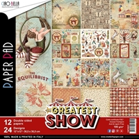 "Εικόνα του Ciao Bella Double-Sided Paper Pack 12""X12"" - The Greatest Show"