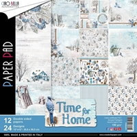 "Εικόνα του Ciao Bella Double-Sided Paper Pack 12""X12"" - Time for Home"