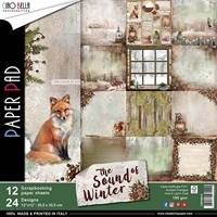 "Εικόνα του Ciao Bella Double-Sided Paper Pack 12""X12"" - The Sound of Winter"