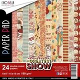 """Εικόνα του Ciao Bella Double-Sided Paper Pack 6""""X6"""" - The Greatest Show"""