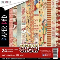 "Εικόνα του Ciao Bella Double-Sided Paper Pack 6""X6"" - The Greatest Show"