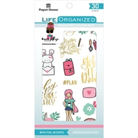 Εικόνα του Paper House Life Organized Sticker Book - Productivity