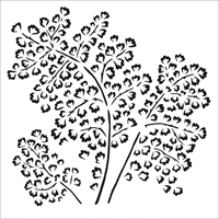 Εικόνα του Crafter's Workshop Template 15x15 - Maidenhair Fern