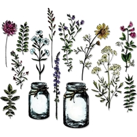 Εικόνα του Sizzix Framelits Dies By Tim Holtz - Flower Jar
