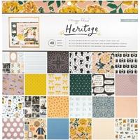 """Εικόνα του Crate Paper Single-Sided Paper Pad 12""""X12"""" - Heritage"""