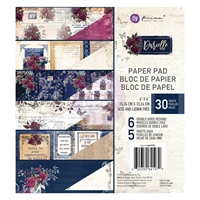 "Εικόνα του Prima Marketing Double-Sided Paper Pad 6""X6"" - Darcelle"