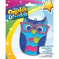 Εικόνα του Makit & Bakit Deluxe Suncatcher Kit - Owl