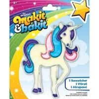 Εικόνα του Makit & Bakit Deluxe Suncatcher Kit - Glitter Unicorn