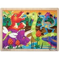 Εικόνα του Jigsaw Puzzle 24pcs - Prehistoric Sunset