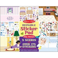 Εικόνα του Melissa & Doug Reusable Sticker Pad - Σπίτι