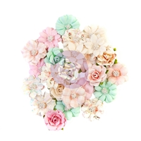 Εικόνα του Dulce Mulberry Paper Flowers - Suenos Dulces