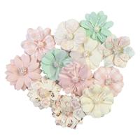 Εικόνα του Dulce Mulberry Paper Flowers - Full Heart