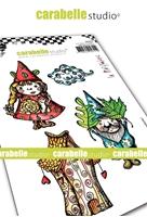 Εικόνα του Carabelle Studio Cling Stamp A6 by La Rafistolerie - Renaud and Juliette