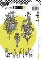 Εικόνα του Carabelle Studio Cling Stamp A6 by Azoline - Azo'Style Art Nouveau