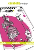 Εικόνα του Carabelle Studio Cling Stamp A6 by Sultane - French Flowers