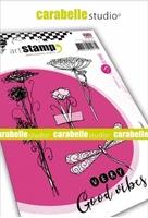 Εικόνα του Carabelle Studio Cling Stamp A6 by Sultane - Very Good Vibes