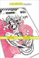 Εικόνα του Carabelle Studio Cling Stamp A6 by Jen Bishop - Mermaid with Bubbles