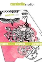 Εικόνα του Carabelle Studio Cling Stamp A6 by Jen Bishop - Chroniques Steampunk