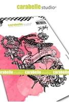 Εικόνα του Carabelle Studio Cling Stamp A6 by Jen Bishop - Collage Steampunk