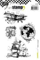 Εικόνα του Carabelle Studio Cling Stamp A6 - Partir en Voyage