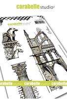 Εικόνα του Carabelle Studio Cling Stamp A6 by Alexi - Gargouille et Architecture Gothiqu