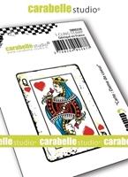 Εικόνα του Carabelle Studio Cling Stamp Mini - Dame de Coeur
