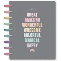 Εικόνα του Happy Planner 12-Month Dated Classic Planner - Pastel Dreams