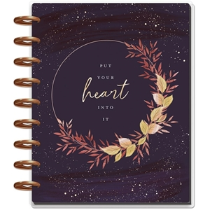 Picture of Happy Planner 12-Month Dated Classic Planner - Live With Heart