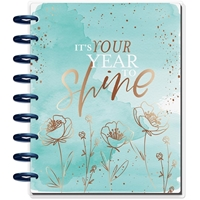 Εικόνα του Happy Planner 12-Month Dated Classic Planner - Year To Shine
