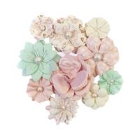 Εικόνα του Dulce Mulberry Paper Flowers - Cupcakes