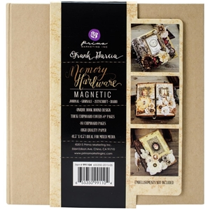 Picture of Mini Album Prima Memory Hardware - Kraft Magnetic 8 Pages