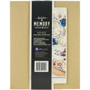 Picture of Mini Album Prima Memory Hardware - Kraft Voyage