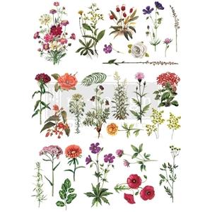 "Picture of Prima Re-Design Decor Transfer - Floral Collection 22""X32"""