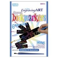 Εικόνα του Rainbow Foil Engraving Art - Bookmarks - Κιτ Χαρακτικής: Σελιδοδείκτες