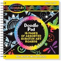 Εικόνα του Scratch Art Doodle Pad - Κιτ Χαρακτικής