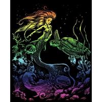 """Εικόνα του Rainbow Foil Σετ Χαρακτικής 8""""X10"""" - Γοργόνες"""