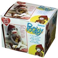 """Εικόνα του Janlynn Peejay Sock Monkey Kit 21"""" - Κατασκευή Κούκλας:Μαιμουδάκι"""