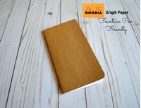 Εικόνα του Journal Shop - Rhodia Paper Graph Travelers Notebook Insert