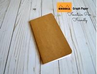 Εικόνα του Journal Shop - Rhodia Paper Graph Travelers Notebook Insert